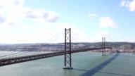 Cars on Bridge Ponte 25 de Abri
