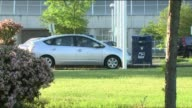 Cars Pulling Up to US Postal Service 'Snorkel' Collection Boxes