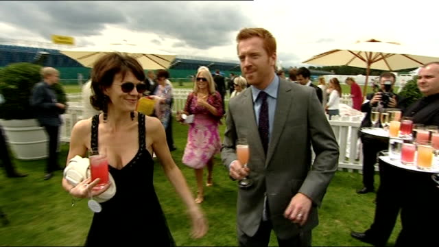 Cartier International Polo Day Damian Lewis and Helen McCrory Andrew Neil and friend Anna Friel Piers Morgan posing with guards Piers Morgan and...