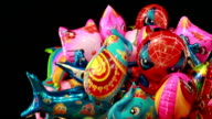 Cartoon  balloons