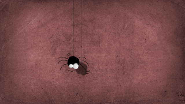 Cartoon Spider Character