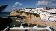 WS HA Carvoeiro Beach with white houses / Algarve, Portugal