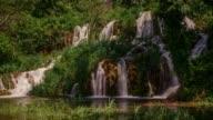 Cascades on Roski Slap waterfall, Krka National Park, Croatia
