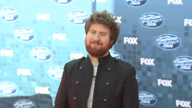 Casey Abrams at the Fox's 'American Idol 2011' Finale Results Show at Los Angeles CA
