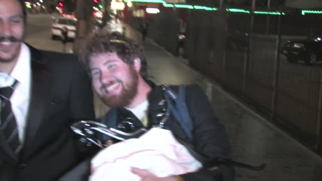 Casey Abrams leaving the W Hotel in Hollywood