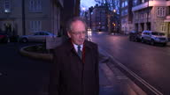 Cash For Access Tories Suspend Rifkind Whip Exterior shots Sir Malcolm Rifkind MP Chairman of the Intelligence and Security Committee walking...