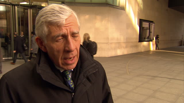 Cash For Access Tories Suspend Rifkind Whip on Exterior shots and Interview Jack Straw MP Labour Party defending himself against lobbying accusations...