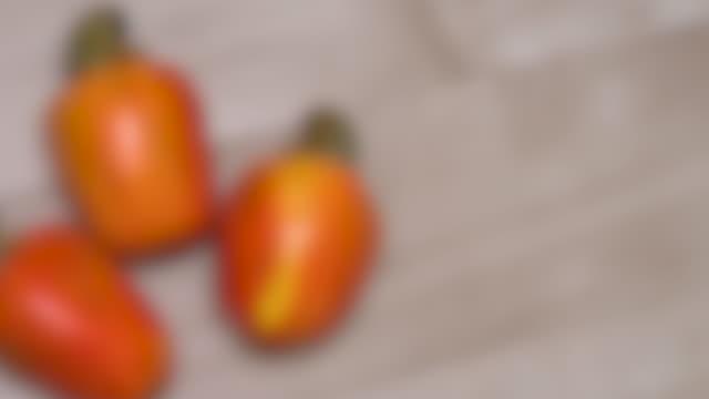 Cashew Fruit 4k