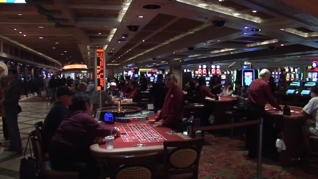 casino interior / roulette game Las Vegas Roulette on November 15 2011 in Las Vegas Nevada