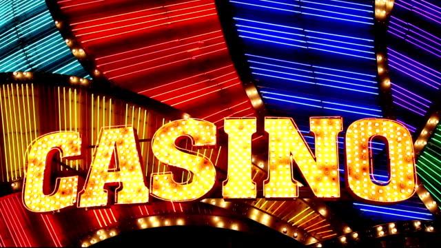 Casino-Neon Sign-Macau, China