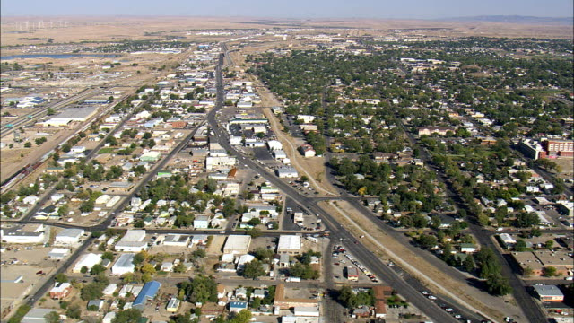 Casper - Aerial View - Wyoming, Natrona County, United States