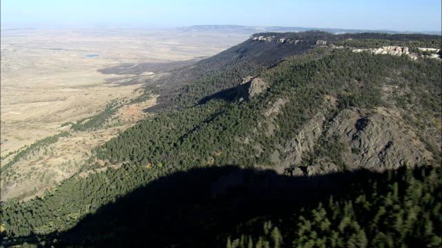 Casper Mountain - Aerial View - Wyoming, Natrona County, United States