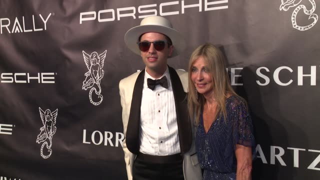 DJ Cassidy and his mother at Angel Ball 2017 at Cipriani Wall Street on October 23 2017 in New York City