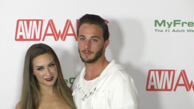 Cassidy Klein Lucas Frost at the 2017 AVN Awards Nomination Party at Avalon Nightclub in Hollywood Celebrity Sightings on November 17 2016 in Los...