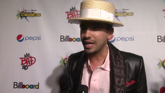 Cassidy talks about MJ at PEPSI Billboard Present The Summer Beats Concert Series Celebrating Michael Jackson at Gotham Hall on August 29 2012 in New...