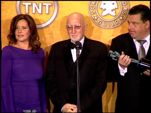 Cast of 'The Sopranos' at the 2008 Screen Actors Guild SAG Awards press room at the Shrine Auditorium in Los Angeles California on January 27 2008