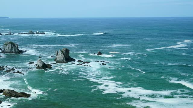 EL SILENCIO BEACH, Castañeras, Cudillero Council, Cantabrian Sea, Asturias, Spain, Europe