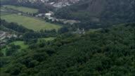 Castell Coch  - Aerial View - Wales, Cardiff, Tongwynlais, United Kingdom