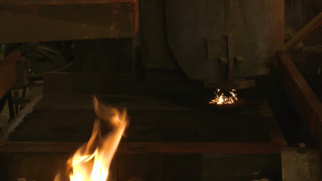 MS Casting molds at foundry / Juenkerath, Rhineland-Palatinate, Germany