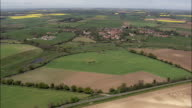 Castle Acre  - Aerial View - England, Norfolk, King's Lynn and West Norfolk District, United Kingdom
