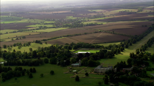 Castle Ashby  - Aerial View - England, Northamptonshire, South Northamptonshire District, United Kingdom