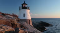 Castle Hill Lighthouse (RI) sunset