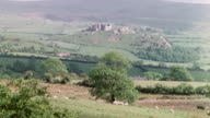 MONTAGE Castles built by the Normans / Wales, United Kingdom