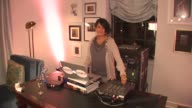 DJ Cat at the LOFT Fall 2010 Style Studio Press Preview And Cocktail Party at Los Angeles CA