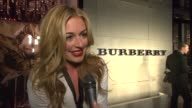 Cat Deeley on Burberry Body her relationship with Burberry what makes Burberry so iconic on British style and on wearing Burberry tonight at the...