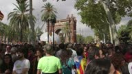 Catalonian supporters of independence say they are living in a dictatorship after plans to hold an outlawed independence referendum had been dealt a...