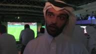 Catar prueba en los partidos de la Copa un espacio al aire libre con aire acondicionado prototipo de los estadios que albergaran el Mundial de Futbol...