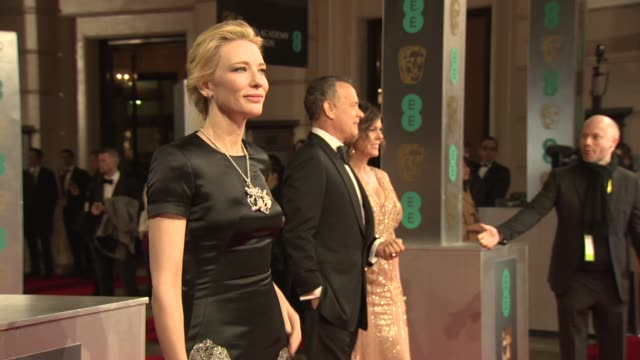 Cate Blanchett at EE British Academy Film Awards at The Royal Opera House on February 16 2014 in London United Kingdom