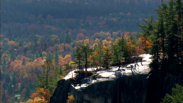 Cathedral Ledge  - Aerial View - New Hampshire,  Carroll County,  United States