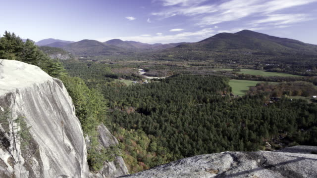 Cathedral Ledge time lapse in New Hampshire