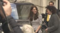 Catherine Duchess of Cambridge at Place2Be Headteacher Conference London on November 18 2015 in London England