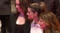 Catherine Keener Rebecca Hall director Nicole Holofcener and actress Amanda Peet at the Please Give Premiere 60th Berlin Film Festival at Berlin