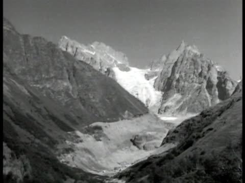 Caucasus Mountains w/ some snow