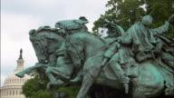 CU, ZI cavalry statue, Washington DC, USA