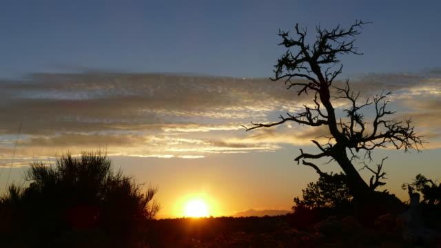 Cedar Mesa Utah sunrise silhouettes time lapse video Colorado mountains