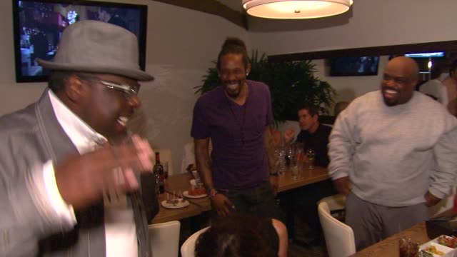 Cedric the Entertainer Cee Lo Green at Planet Dailies Mixology 101 Grand Opening on 4/5/12 in Los Angeles CA