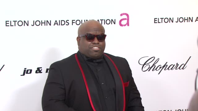 Cee Lo Green at the 19th Annual Elton John AIDS Foundation Academy Awards Viewing Party at West Hollywood CA