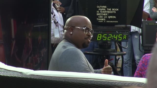 Cee Lo Green at the 'TODAY' show studio in New York NY on 9/9/13