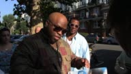 Cee Lo Green signs for fans outside BBC Radio Studios Maida Vale SIGHTED Cee Lo Green at BBC Studios on September 30 2011 in London England
