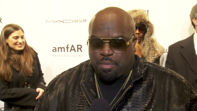 INTERVIEW Cee Lo on performing at amFAR and the importance of the organization at amfAR New York Gala To Kick Off Fall 2013 Fashion Week at Cipriani...