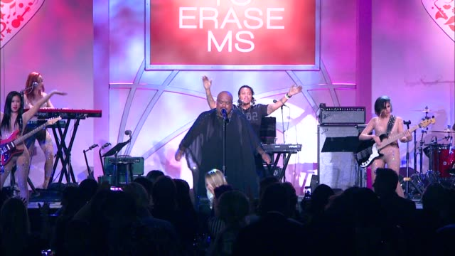 PERFORMANCE CeeLo Green at The 21st Annual Race To Erase MS in Los Angeles CA