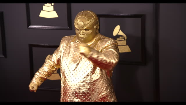 CeeLo Green at the 59th Annual Grammy Awards Arrivals at Staples Center on February 12 2017 in Los Angeles California 4K