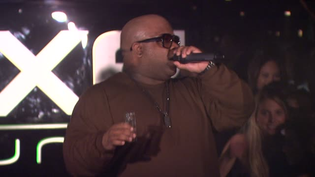 CeeLo Green at the AXE Lounge Late Night At Super Bowl at Dallas TX