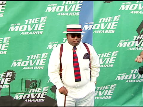 CeeLo of Gnarls Barkley at the 2006 MTV Movie Awards Red Carpet at Sony Pictures Studios in Culver City California on June 3 2006