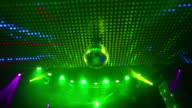 HD Ceiling lights with disco ball (loopable)