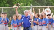 MS PAN Celebrating baseball league championship / Richmond, Virginia, United States